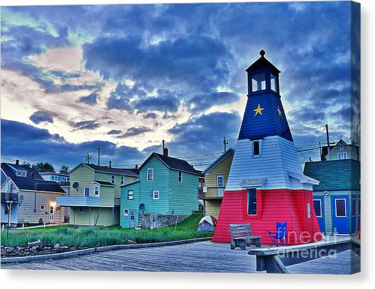 Cabot Trail Canvas Print - Cheticamp In Cape Breton Nova Scotia by Joe  Ng