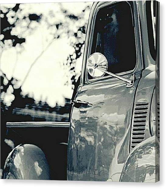 Trucks Canvas Print - Chevro by Marcelo Donhsa