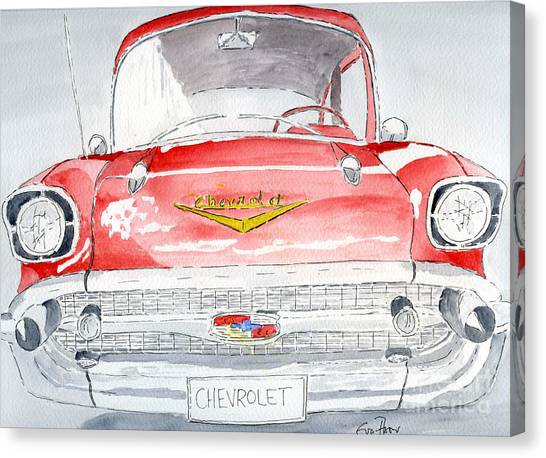 Chevrolet Canvas Print