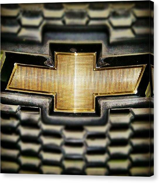 Grills Canvas Print - Chevrolet by Parth Patel