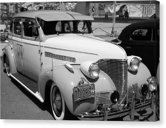 Chevy '39 Canvas Print