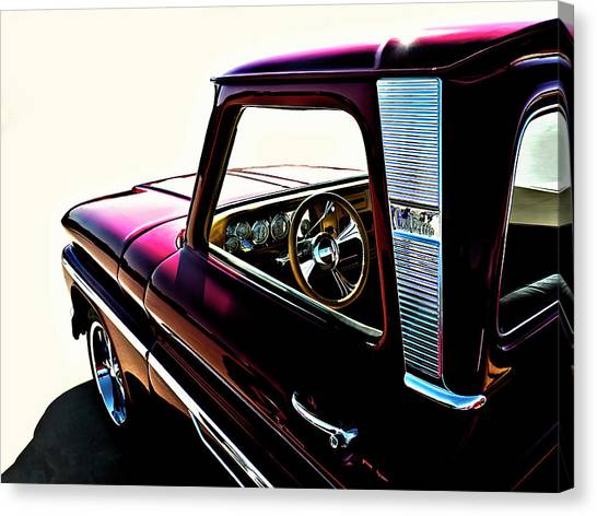 Trucks Canvas Print - Chevy Pickup by Douglas Pittman
