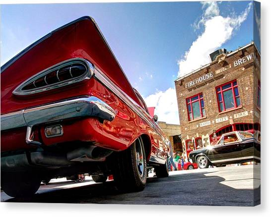 Chevy Town Canvas Print