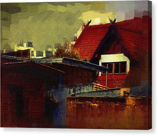 Chiang Mai House Canvas Print