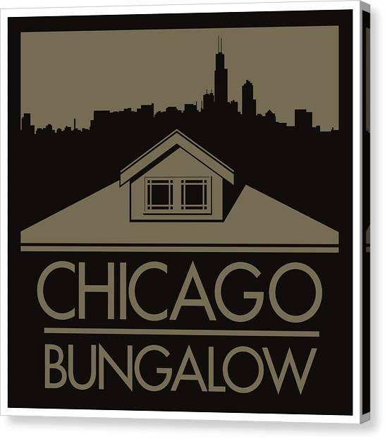 Chicago Bungalow Canvas Print