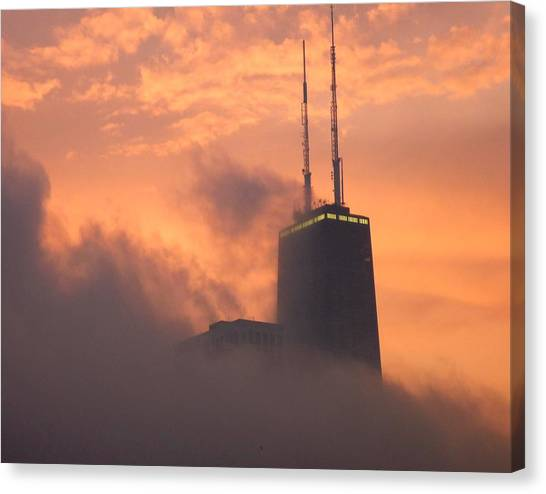 Chicago Dusk Canvas Print