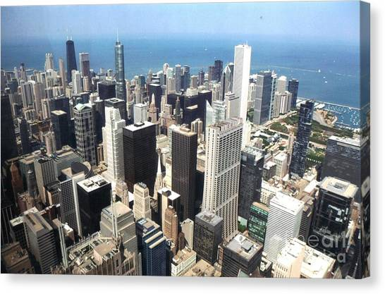 Chicago One Afternoon Canvas Print