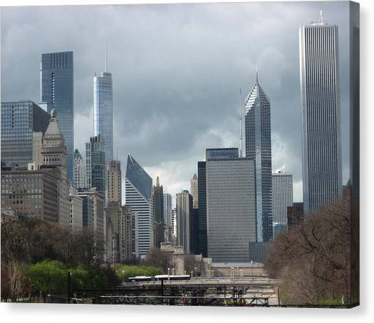 Chicago Skyline 1 Canvas Print