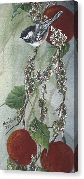 Chickadee Too Canvas Print