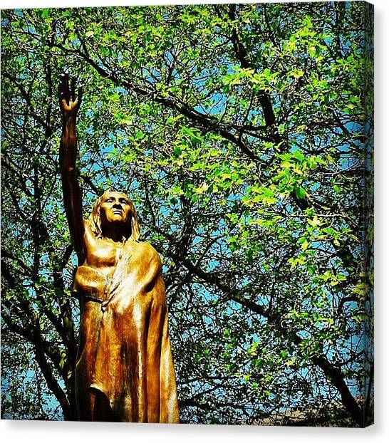 Seattle Canvas Print - Chief Seattle by T Catonpremise
