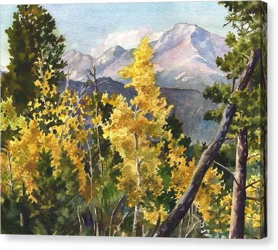 Colorado Canvas Print - Chief's Head Mountain by Anne Gifford