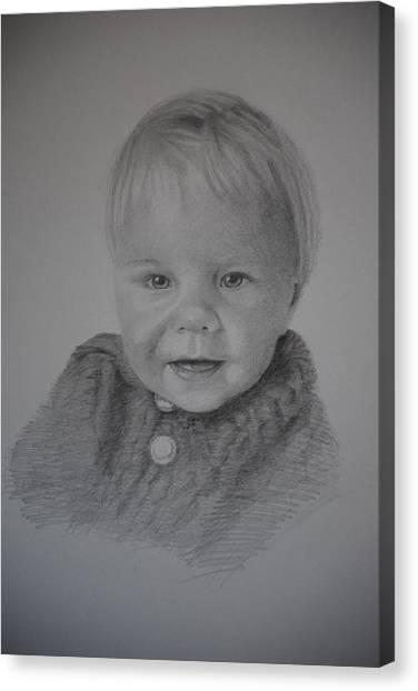 Child Portrait Canvas Print