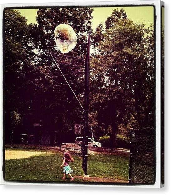 Innocent Canvas Print - #childphoto #kids #innocence #summerfun by Karen Maziarz