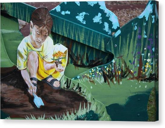 Child's Garden Canvas Print