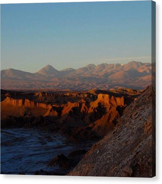 Atacama Desert Canvas Print - #chile #atacama #desert #igfame #nature by Ursula Marcondes