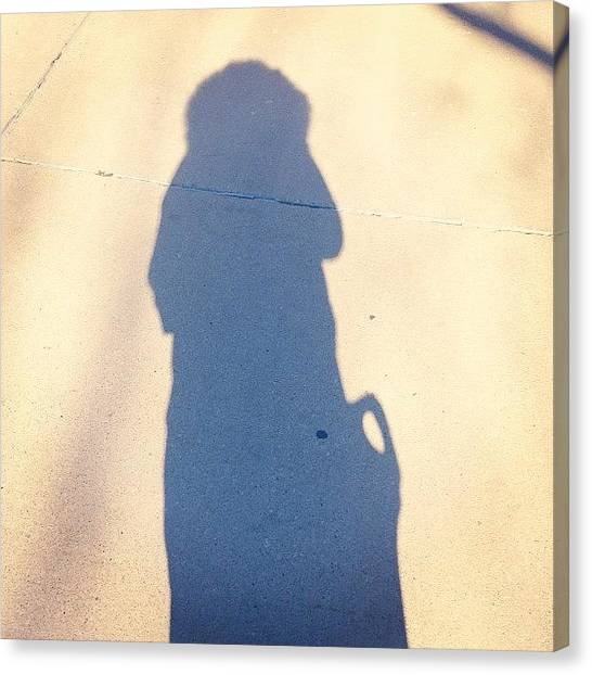 Berlin Canvas Print - Chilly Shadow. #fromwhereistand by Berlin Green