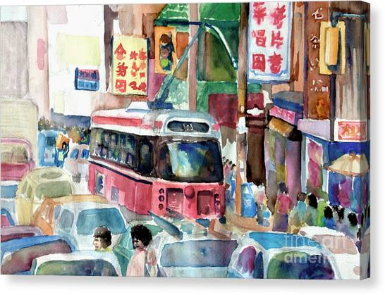 Chinatown Canvas Print by Mike N