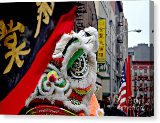 Chinese New Years Nyc  4704 Canvas Print