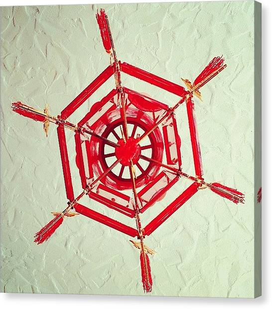 Snowflakes Canvas Print - Chinese Snowflake by Kevin Mao