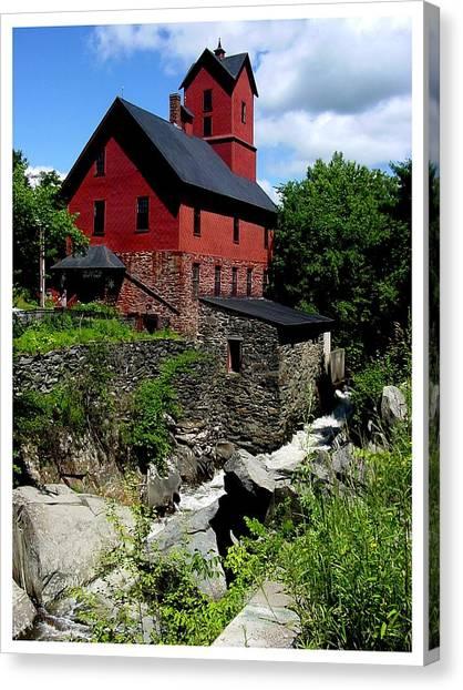 Chittenden Mill  Canvas Print