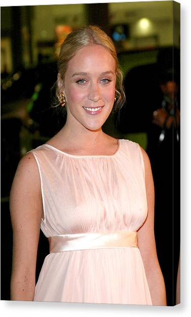 Chloe Sevigny At Arrivals For Big Love Canvas Print by Everett