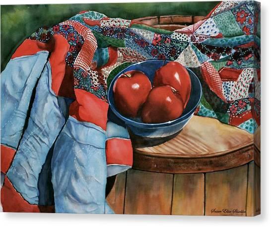 Christa's Quilt Canvas Print