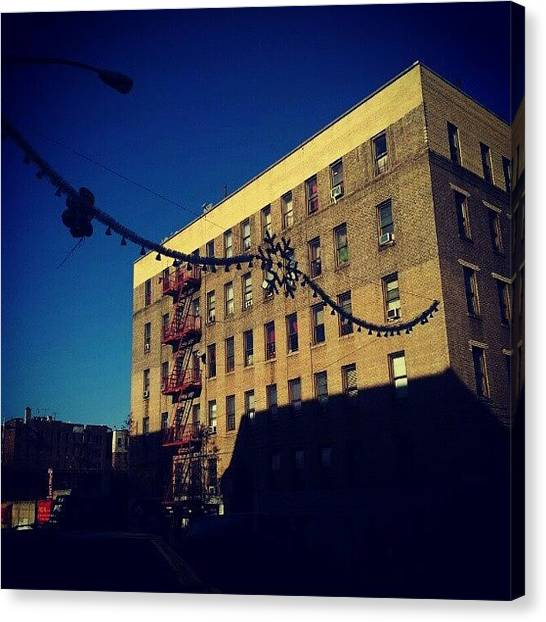 Snowflakes Canvas Print - Christmas Is Apparently Here. 208th And by Radiofreebronx Rox