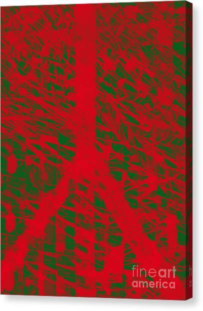 Christmas Peace Canvas Print by Robert Haigh