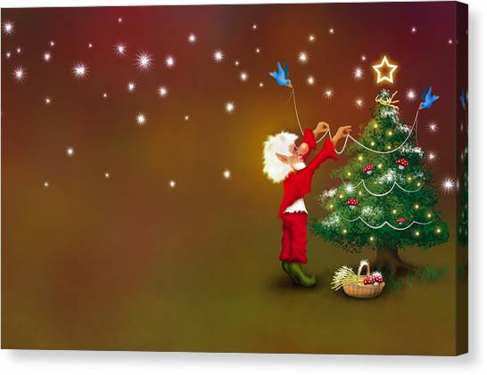 Christmas Pixie Canvas Print