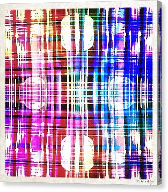 Big Sky Canvas Print - Chrome Gone Plaid - Hard Rock Casino by Photography By Boopero