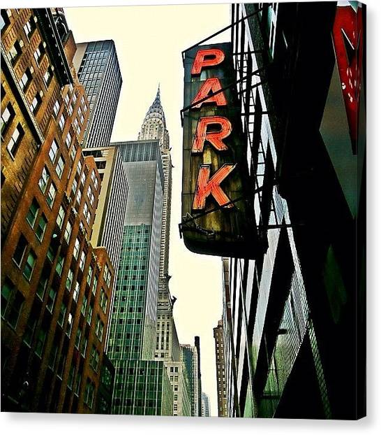Skyscrapers Canvas Print - Chrysler Building Ny by Joel Lopez