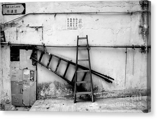 Hongkong Canvas Print - Chuk Lin Lane Still Life by Dean Harte