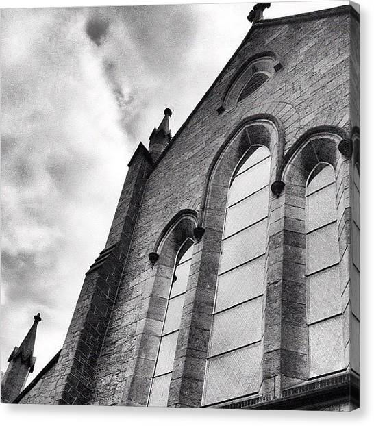 Irish Canvas Print - Church In Galway Ireland #instamood by Sabrina Gamig