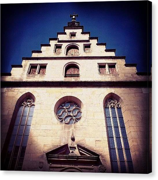 Germany Canvas Print - Church by Matthias Hauser