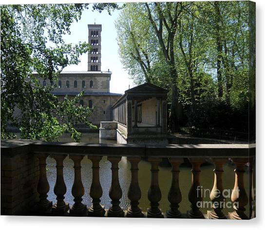 Church Of Peace. Sanssouci Canvas Print by Tanya  Searcy