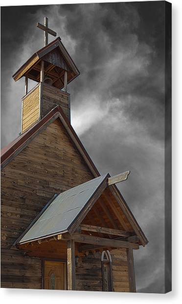 Church On The Mount Canvas Print