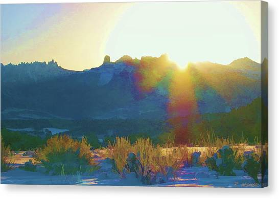 Cimarron Sunrise Canvas Print