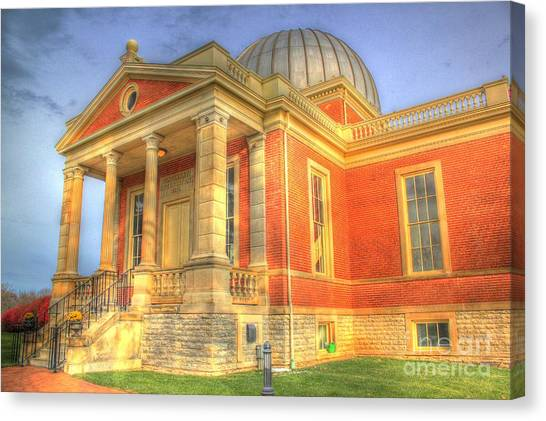 Cincinnati Observatory Up Close Canvas Print