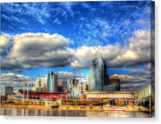 Cincinnati Skyline 2012 - 2 Canvas Print