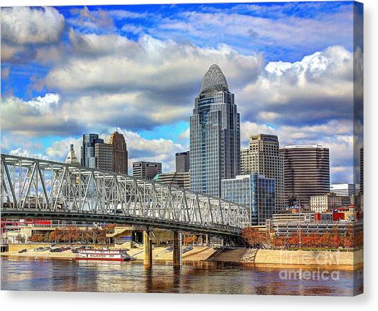 Cincinnati Skyline 2012 Canvas Print