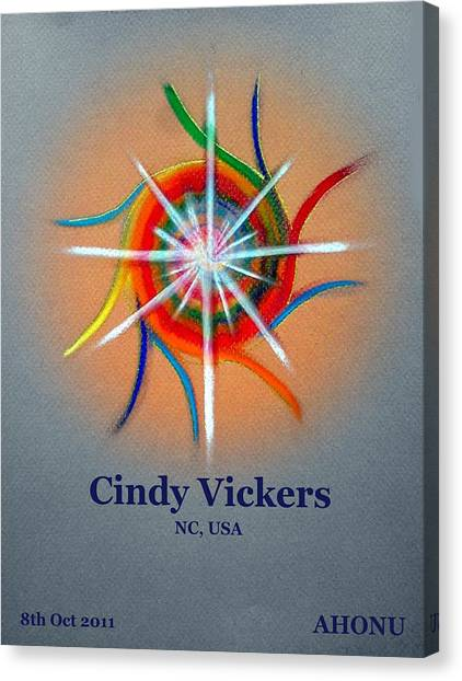 Cindy Vickers Canvas Print