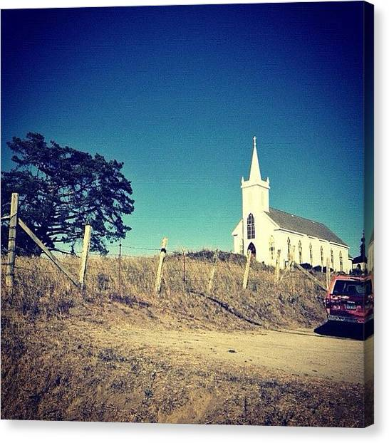 Quirky Canvas Print - Cinematic Moment #drivebyshooting by Karen O