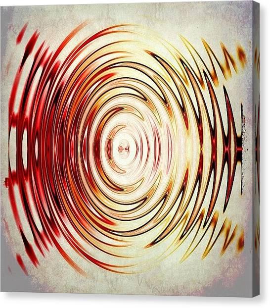 Shapes Canvas Print - Circling Around by Tawanda Baitmon
