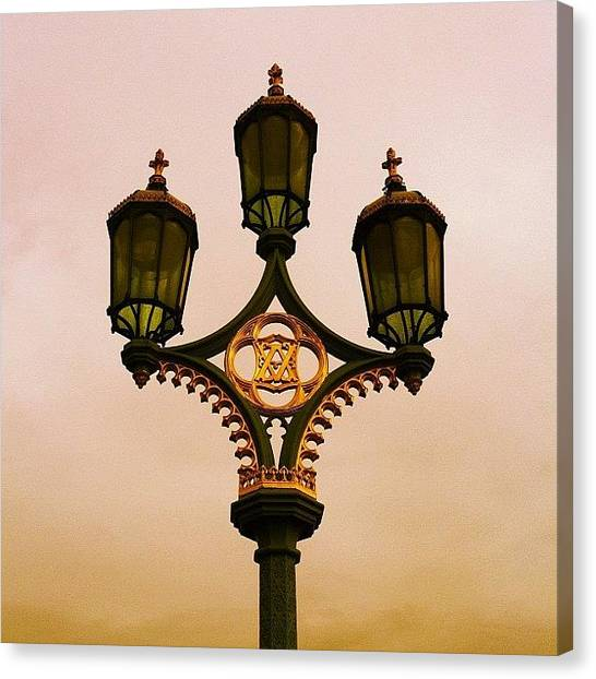 Berries Canvas Print - City Lights by Christine Cherry