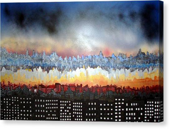 City Never Sleeps Canvas Print