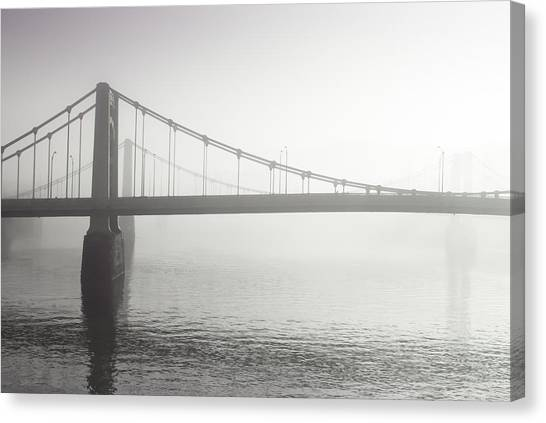 City Of Bridges Canvas Print by Jason Heckman