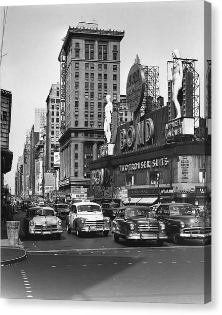 City Scene Canvas Print by George Marks