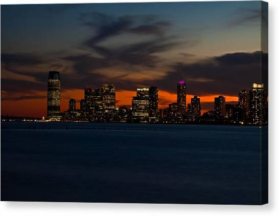 City Skies Canvas Print by Michael Murphy