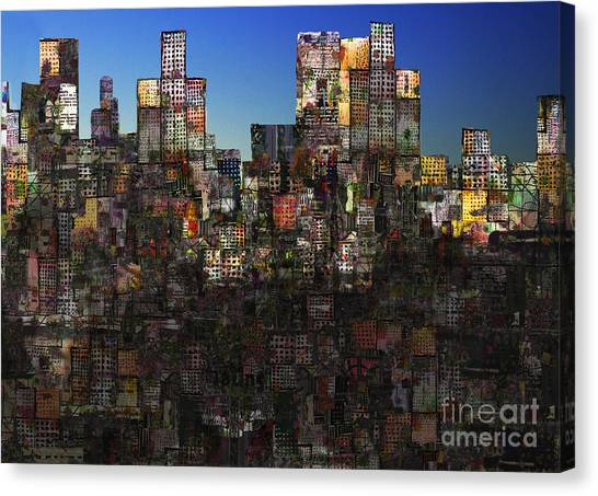 City Sunrises Canvas Print - City Sunrise 11 by Andy  Mercer
