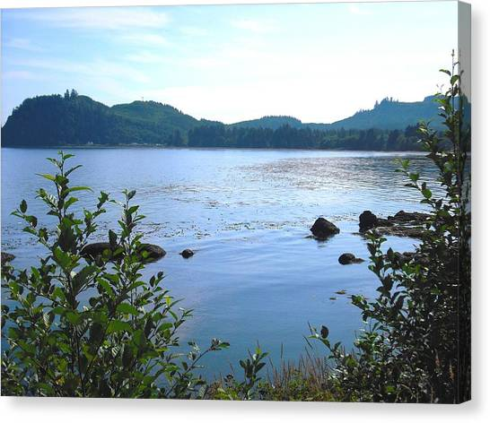 Clallam Bay Canvas Print